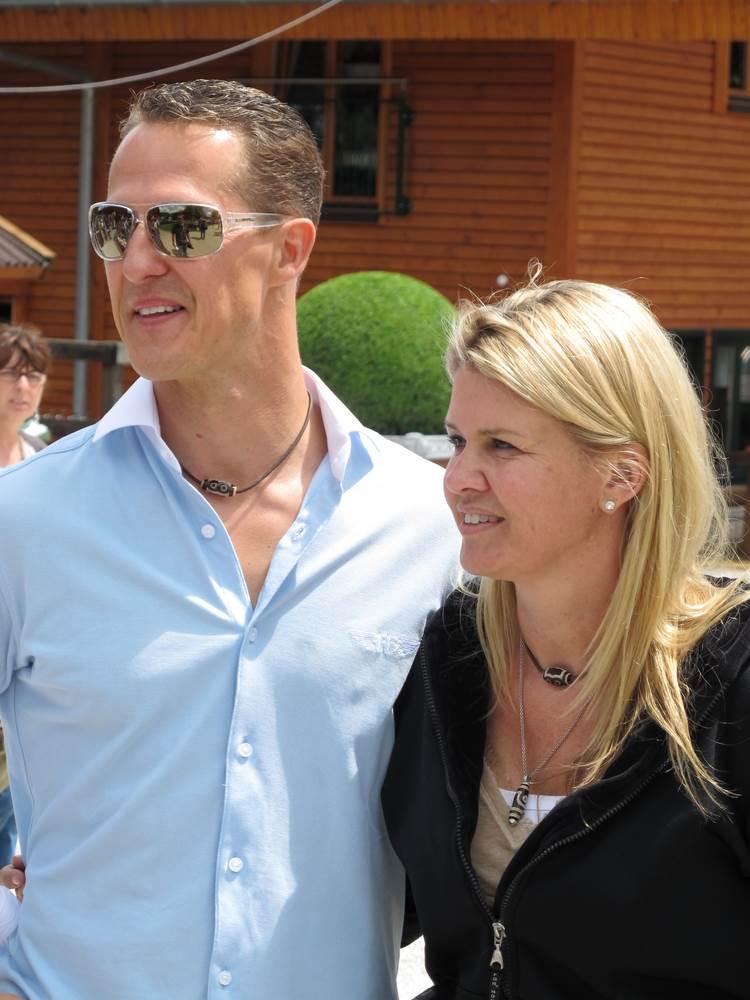 mihael sumaher sa suprugom